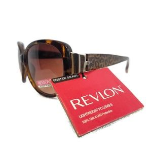 Revlon Leopard design sunglasses